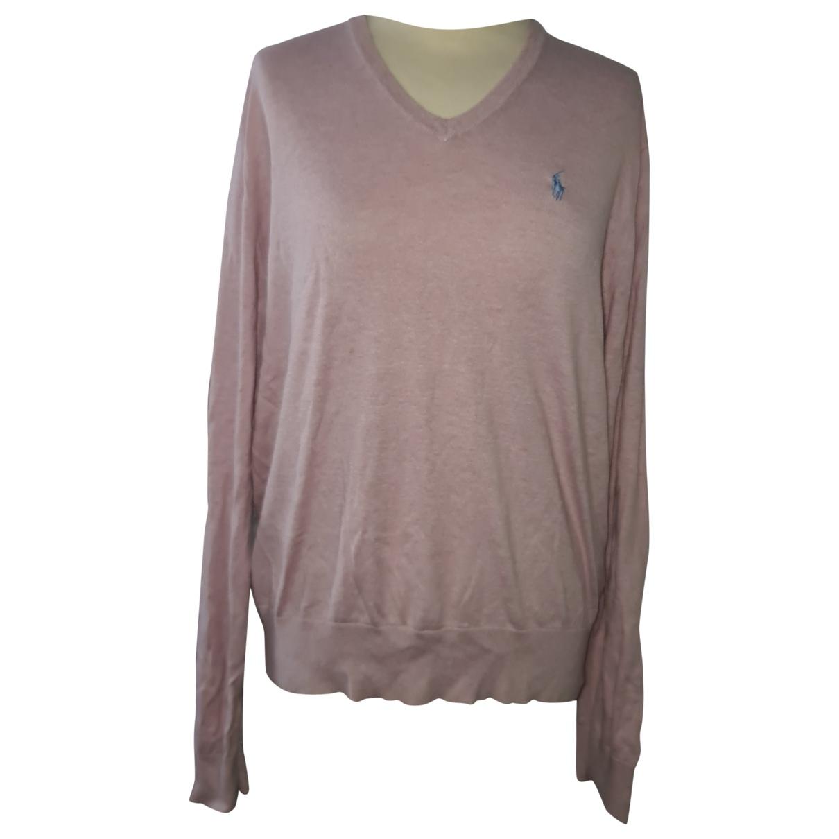 Polo Ralph Lauren \N Pink Cotton Knitwear for Women L International