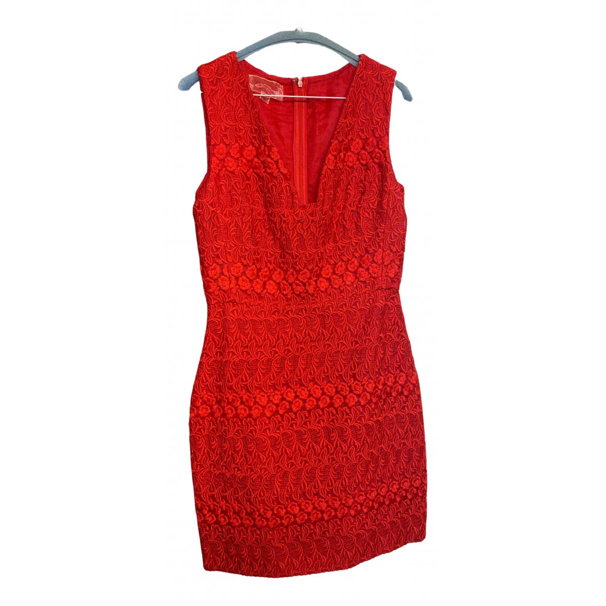 Giambattista Valli \N Kleid in  Rot Spitze