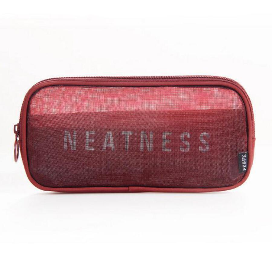 Portable Simple Style Transparent Gauze Multifunction Storage Bag