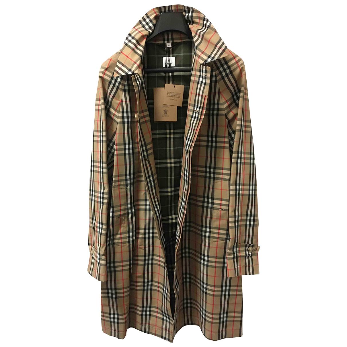 Burberry \N Beige Cotton jacket  for Men 54 IT