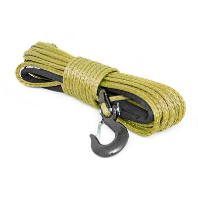 Rough Country Synthetic Winch Rope (Army Green) - RS137