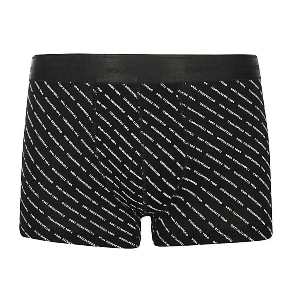 Dsquared2 Dsq2 1964 Underwear Colour: BLACK, Size: LARGE