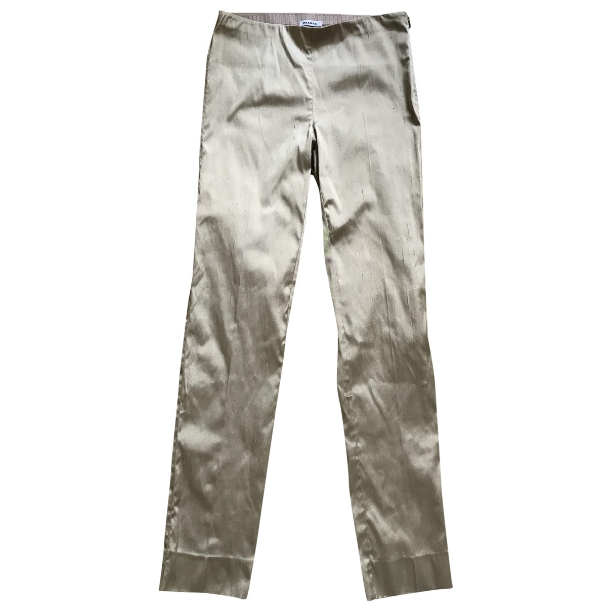 Pantalon pitillo de Seda Parosh