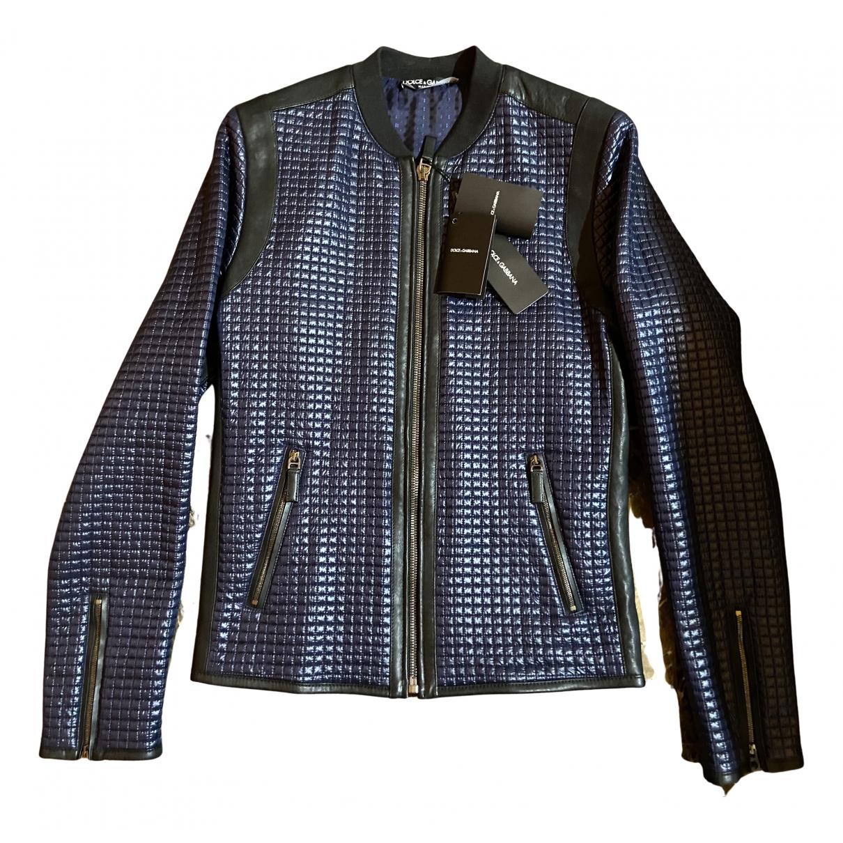 Dolce & Gabbana \N Jacke in  Blau Polyester