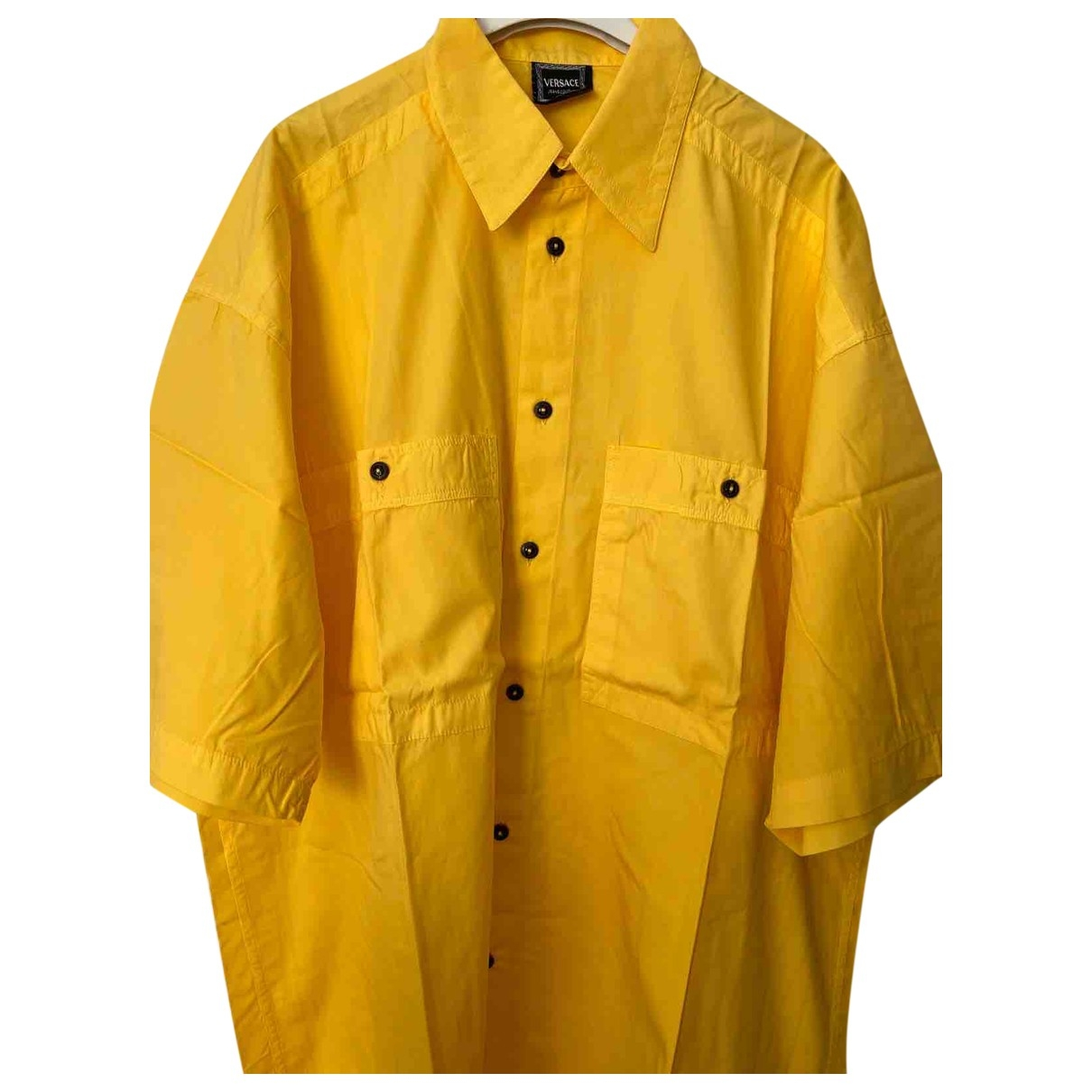 Versace Jeans \N Hemden in  Gelb Baumwolle