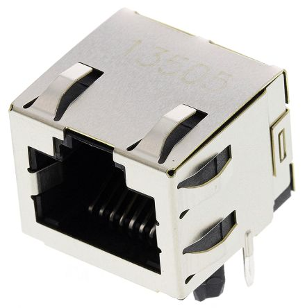 TE Connectivity , Female Cat5 RJ45 Socket (5)