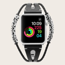 Geflochtenes Metall Apple Watchband