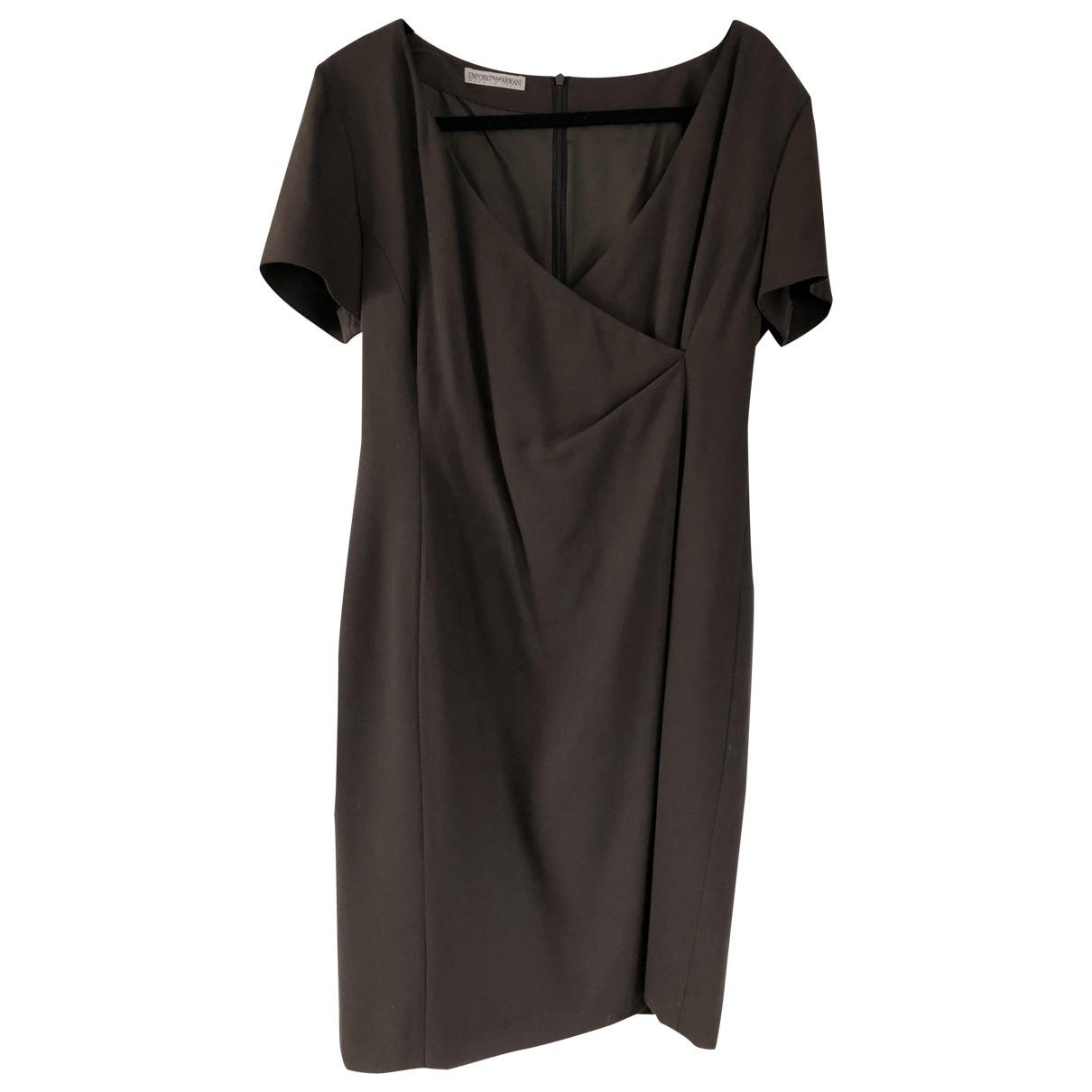 Emporio Armani - Robe   pour femme - marron