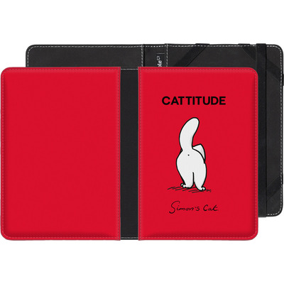 Kobo Glo HD eBook Reader Huelle - Cattitude von Simons Cat