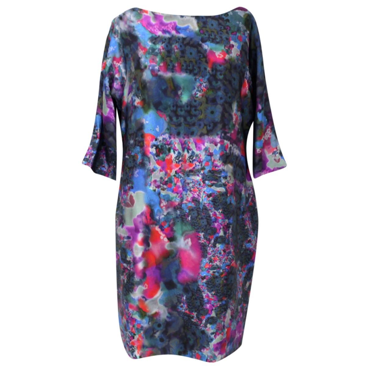 Erdem \N Multicolour Silk dress for Women 14 UK