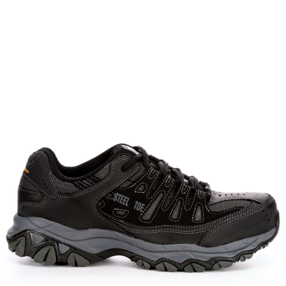 Skechers Mens Cankton Work Safety Shoes
