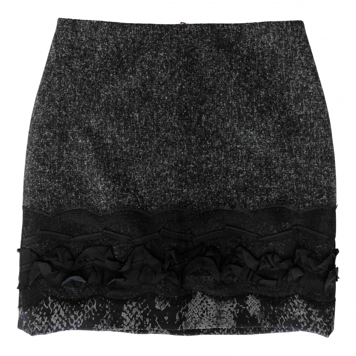 Elie Tahari N Anthracite skirt for Women 10 UK