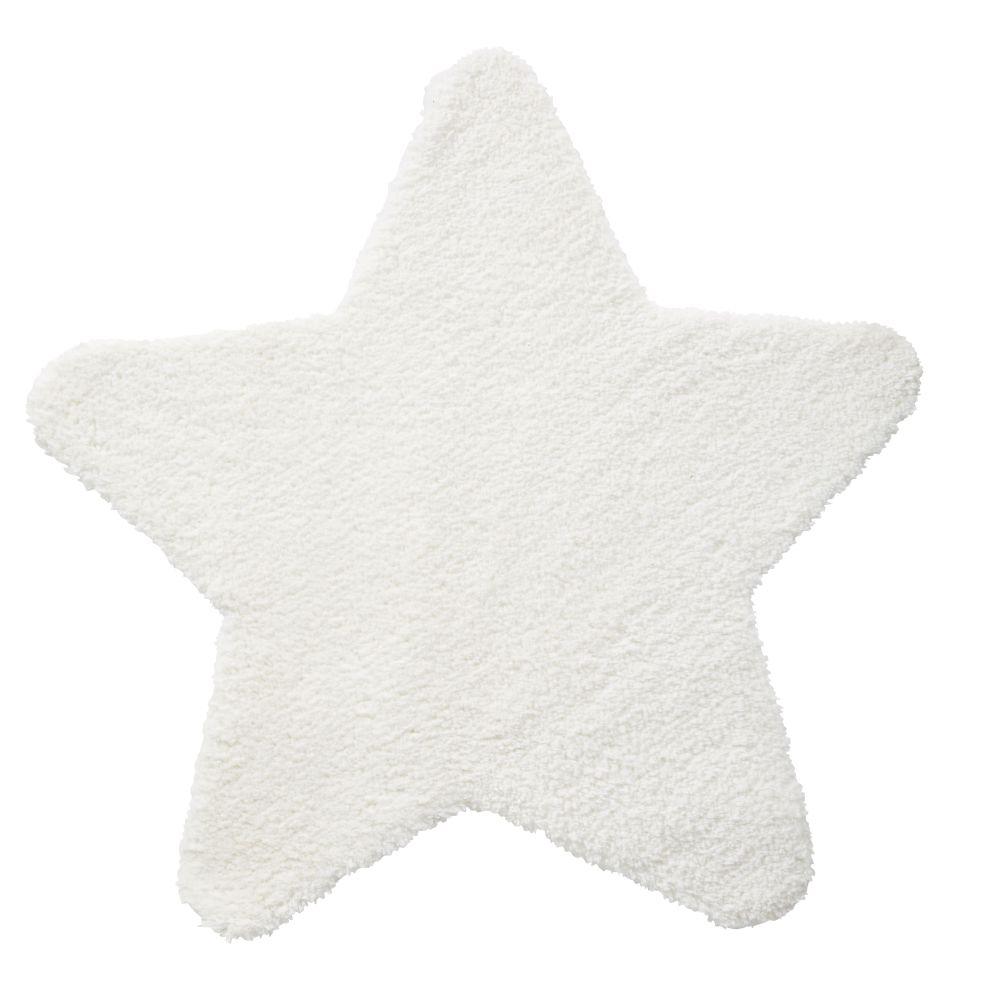 Sternendecke, ecrufarben 100x100
