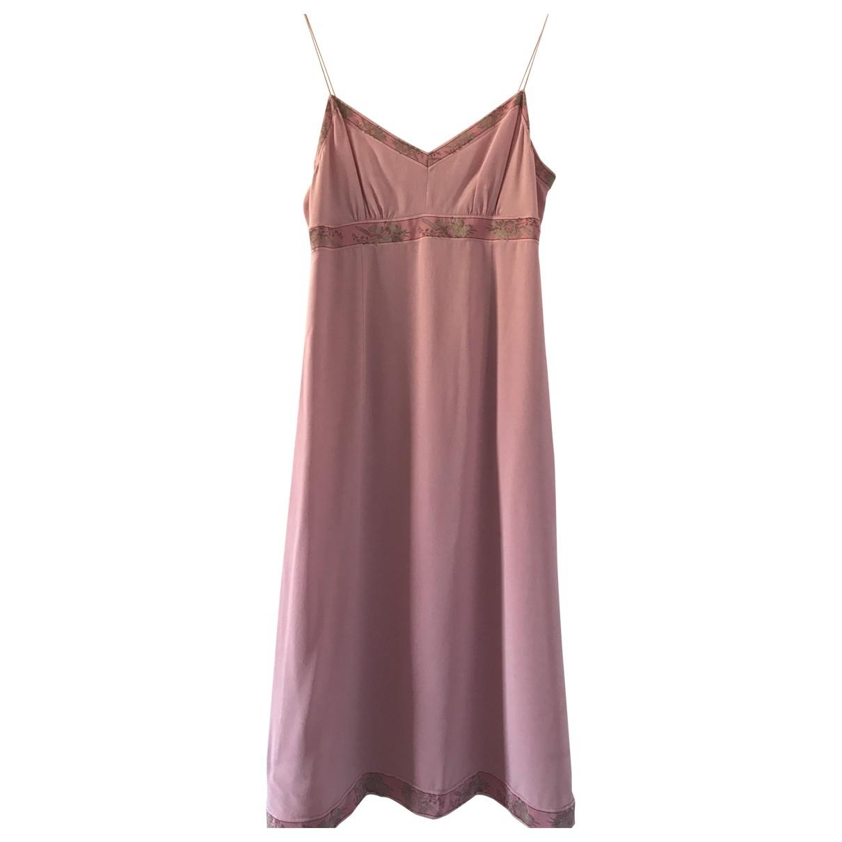 J.crew - Robe   pour femme en soie - rose