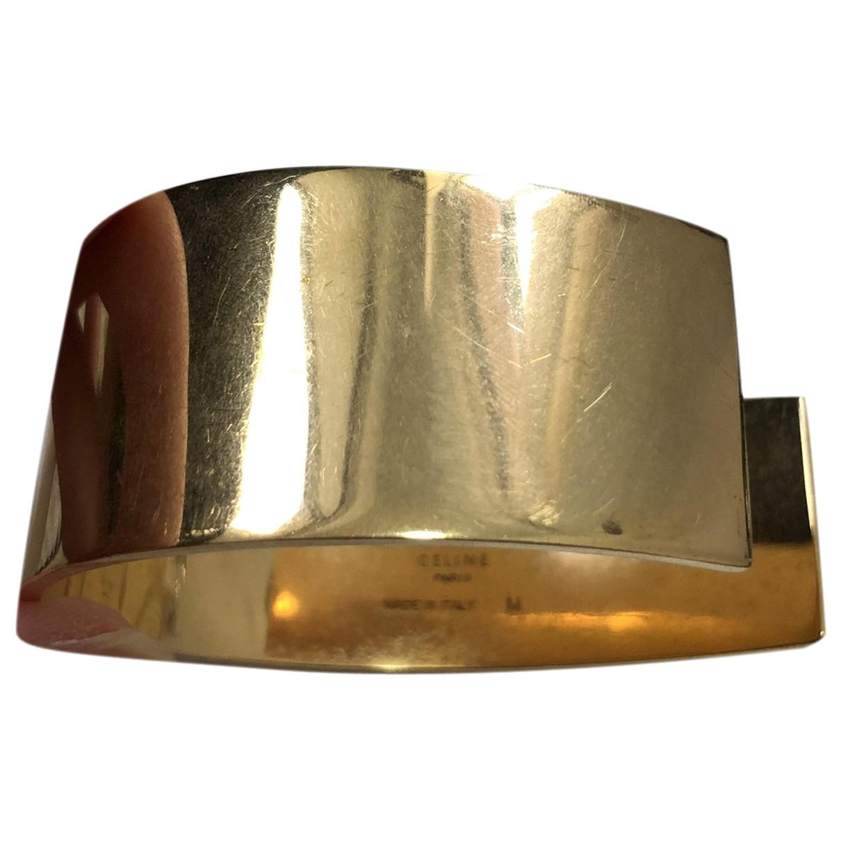 Celine Minimal Armband in  Gold Gold und Stahl