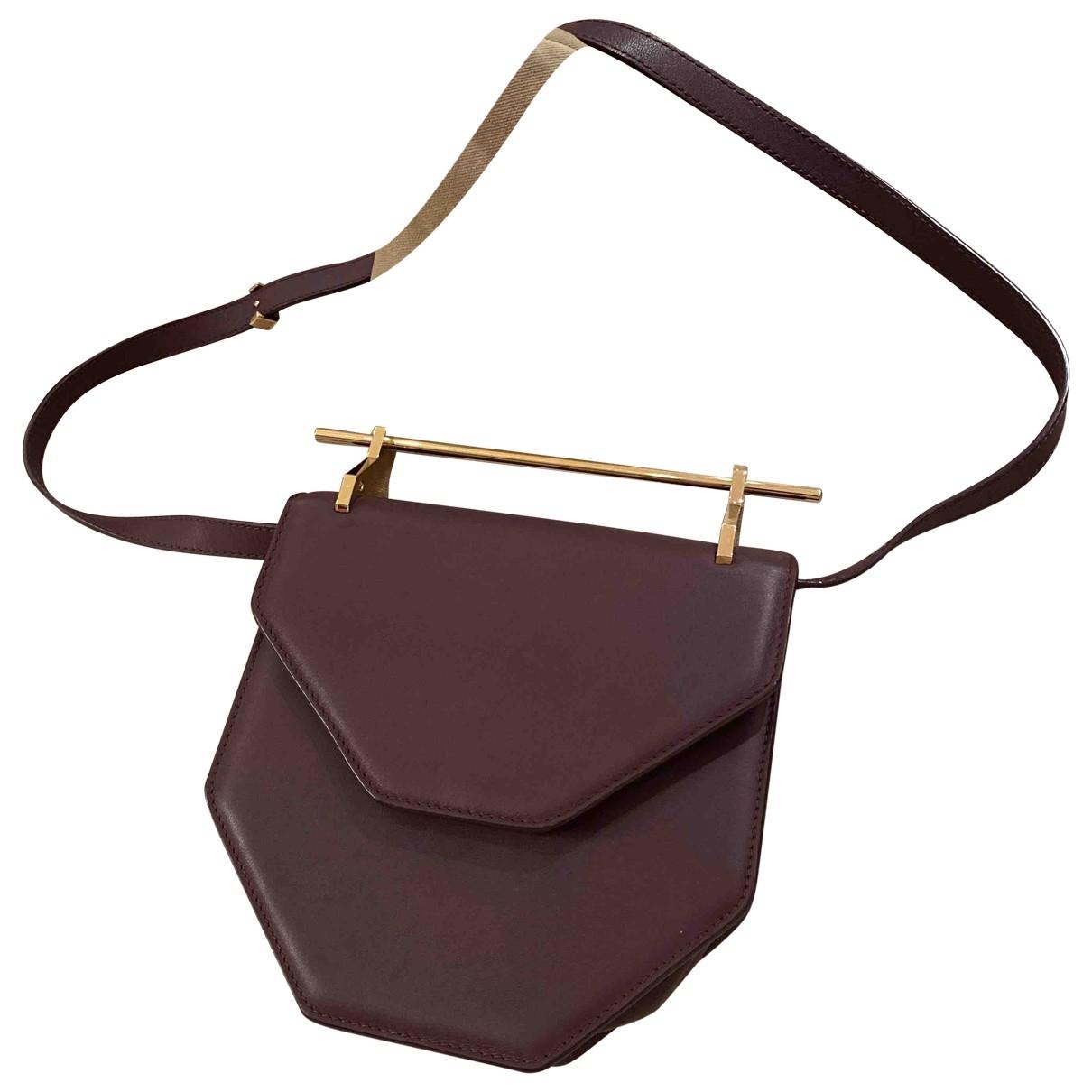 M2malletier \N Handtasche in  Lila Leder