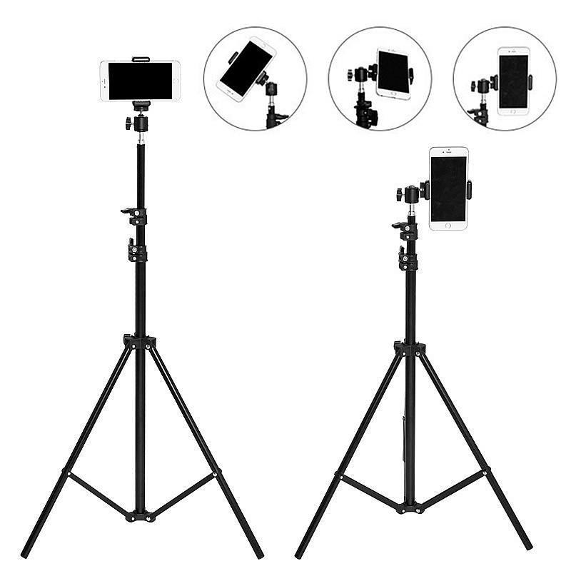 160cm Live Extended Multi-angle Rotation Tripod With Storage Bag