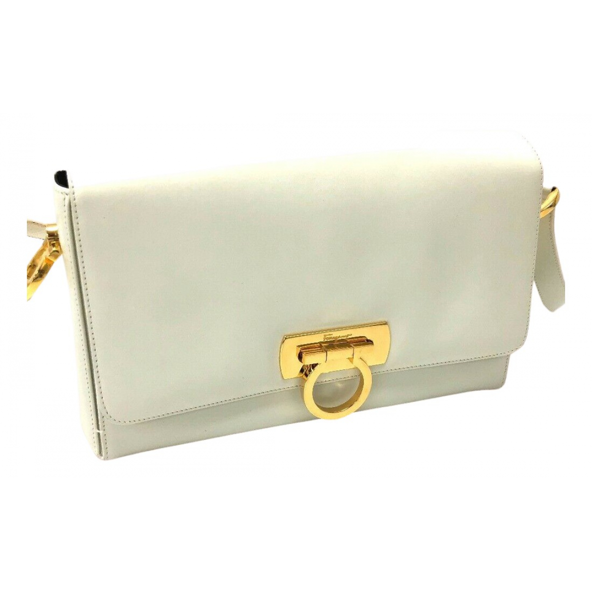 Salvatore Ferragamo N White Leather handbag for Women N