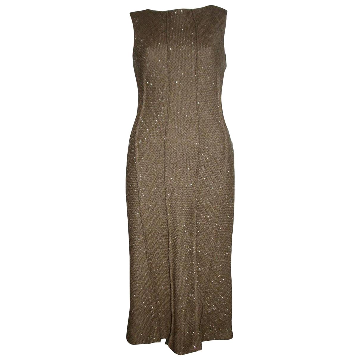 Alberta Ferretti \N Kleid in Tweed