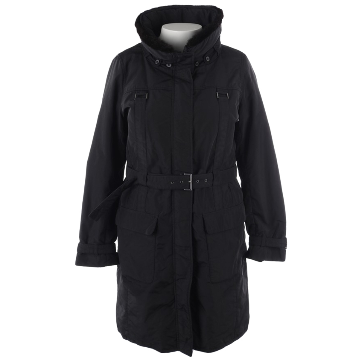Max Mara 's \N Black coat for Women 44 FR