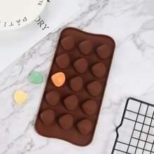 1pc 15 Grid Scallop Chocolate Mold