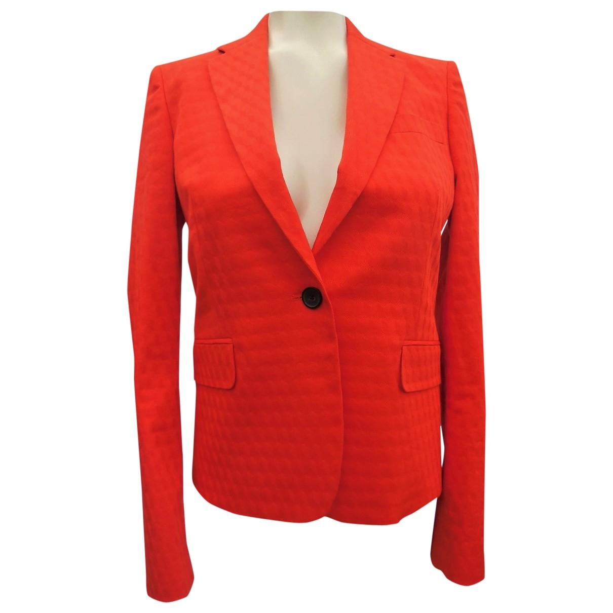Paul Smith - Veste   pour femme en coton - orange
