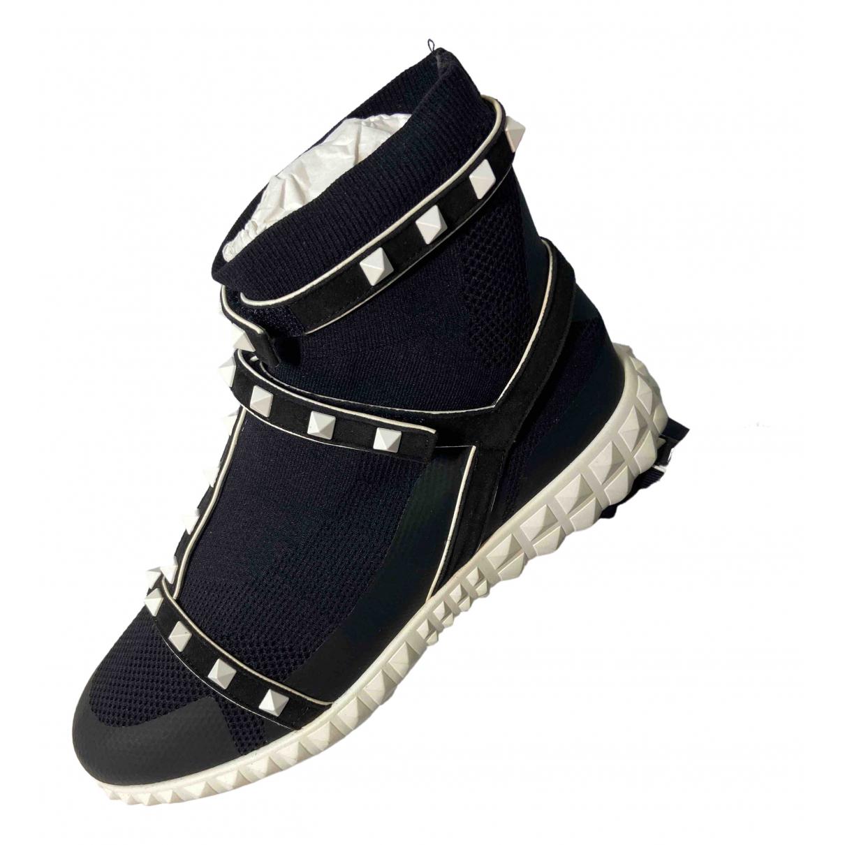Deportivas Sneakers chaussettes VLTN  de Cuero Valentino Garavani