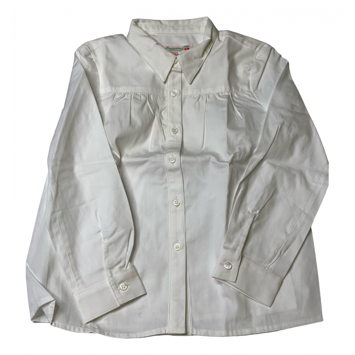 Bonpoint N White Cotton  top for Kids 4 years - until 40 inches UK