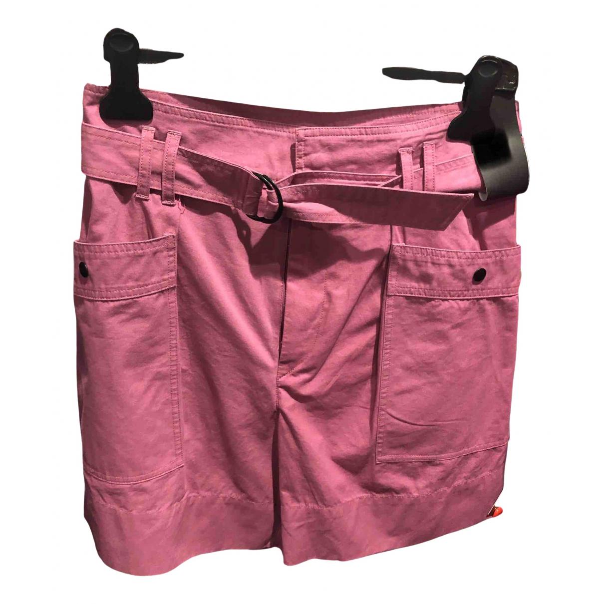 Isabel Marant Etoile \N Shorts in  Rosa Baumwolle