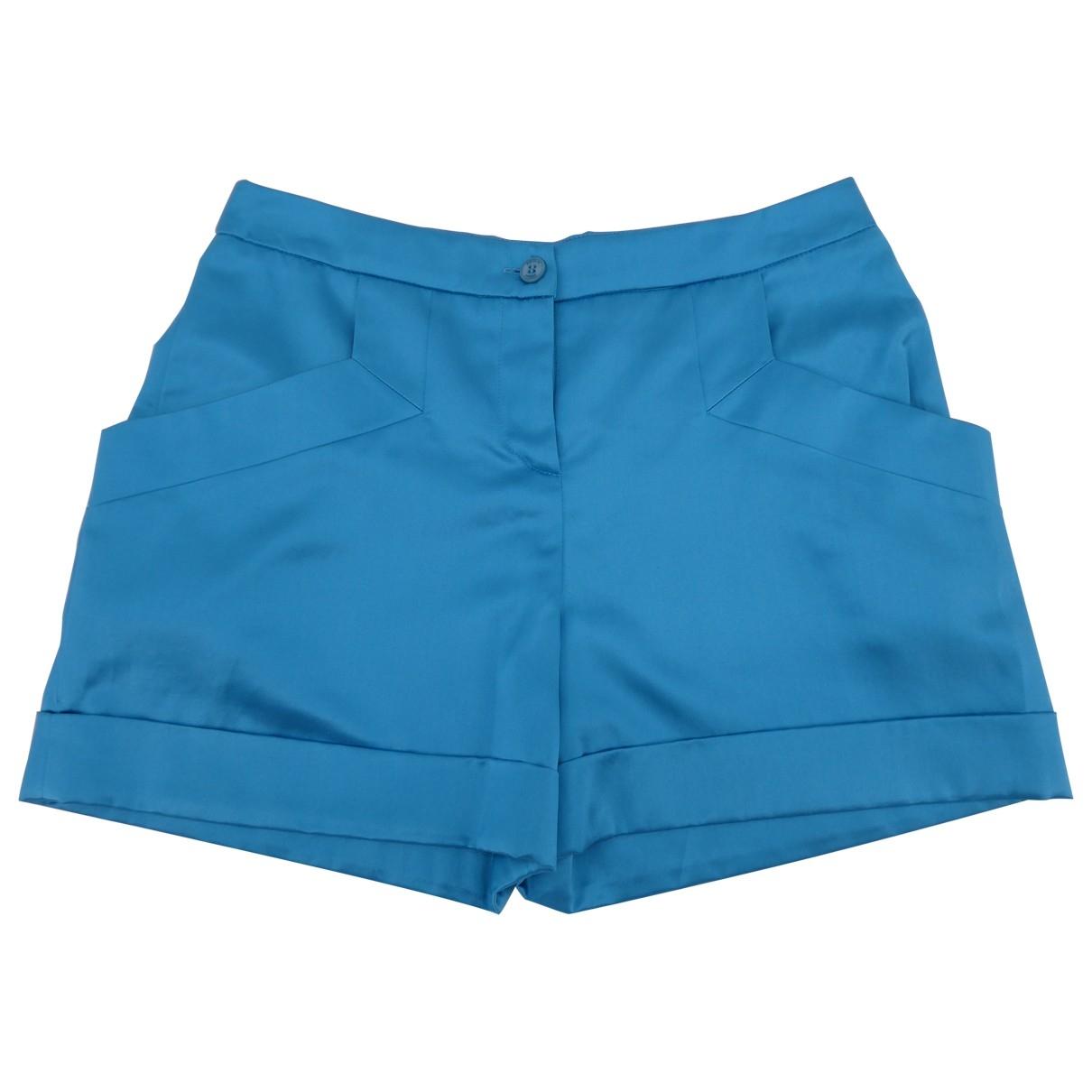 Emilio Pucci - Short   pour femme en soie - bleu