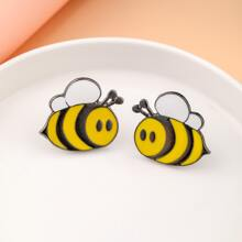 2pcs Girls Cute Bee Brooch