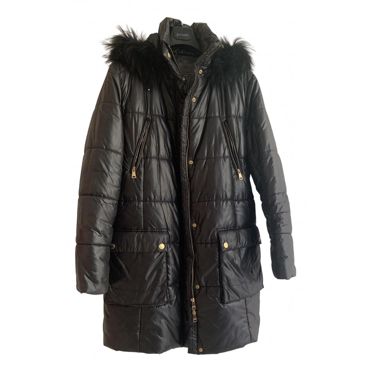 Krizia \N Black Wool jacket for Women 50-52 IT