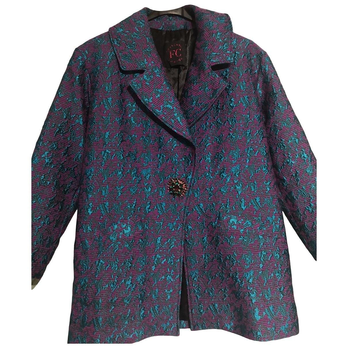 - Manteau   pour femme - metallise