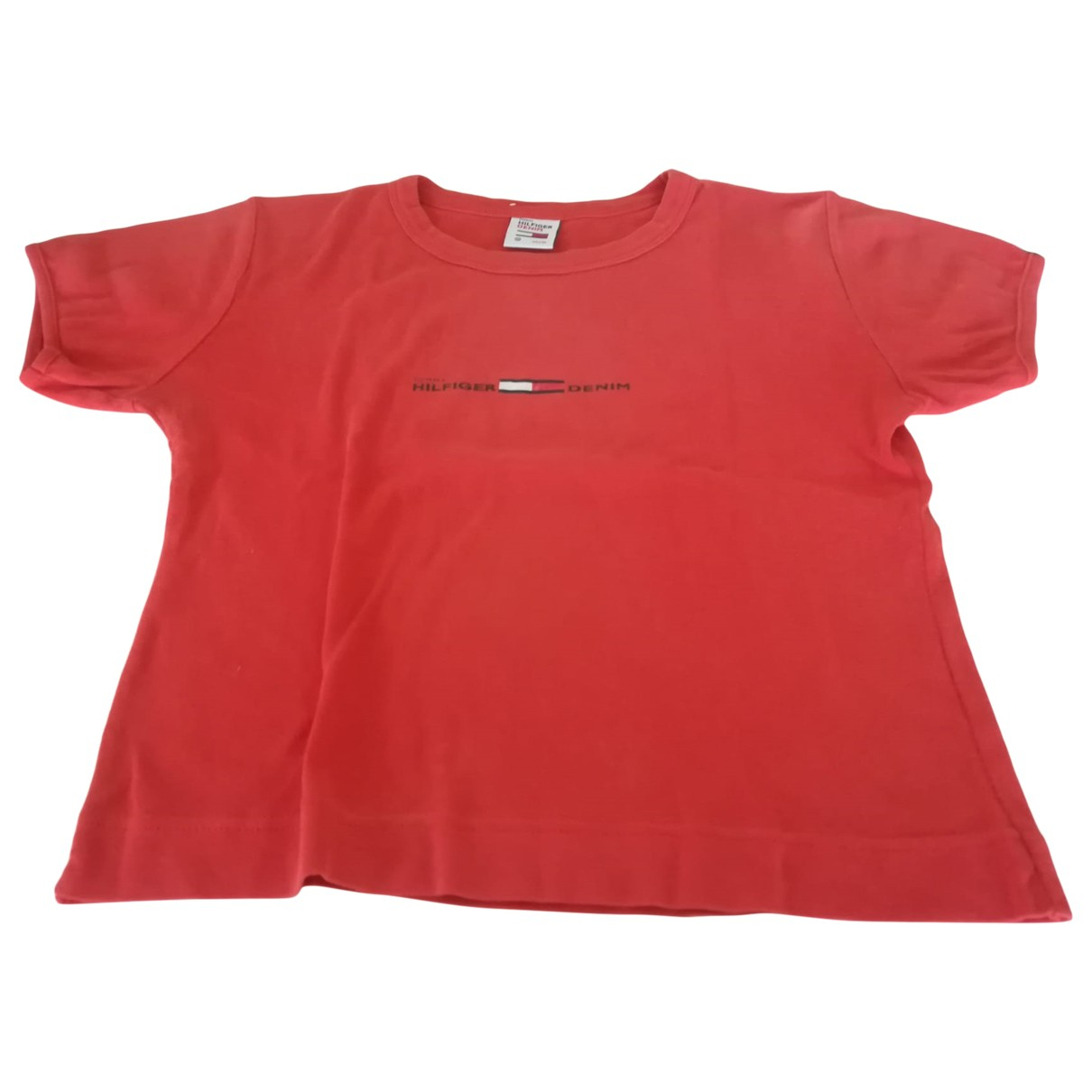 Tommy Hilfiger \N Red Cotton  top for Women 38 FR