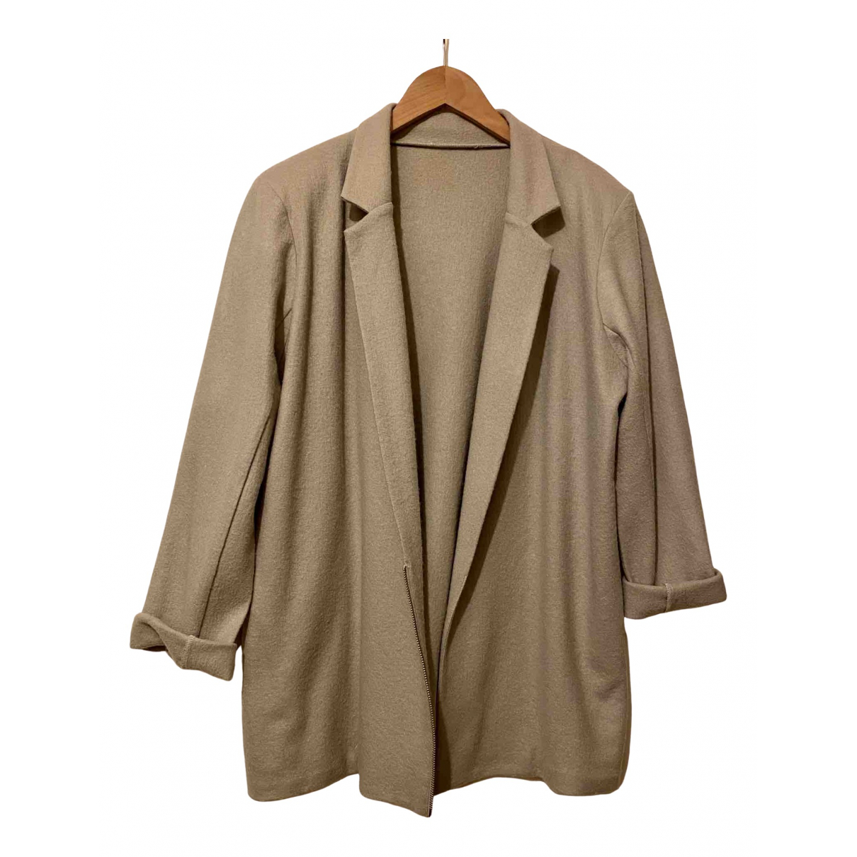 American Vintage - Veste   pour femme en laine - beige