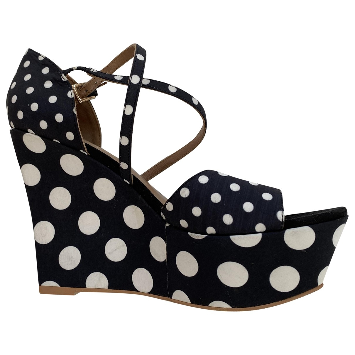 Sandalias de Lona Moschino Love