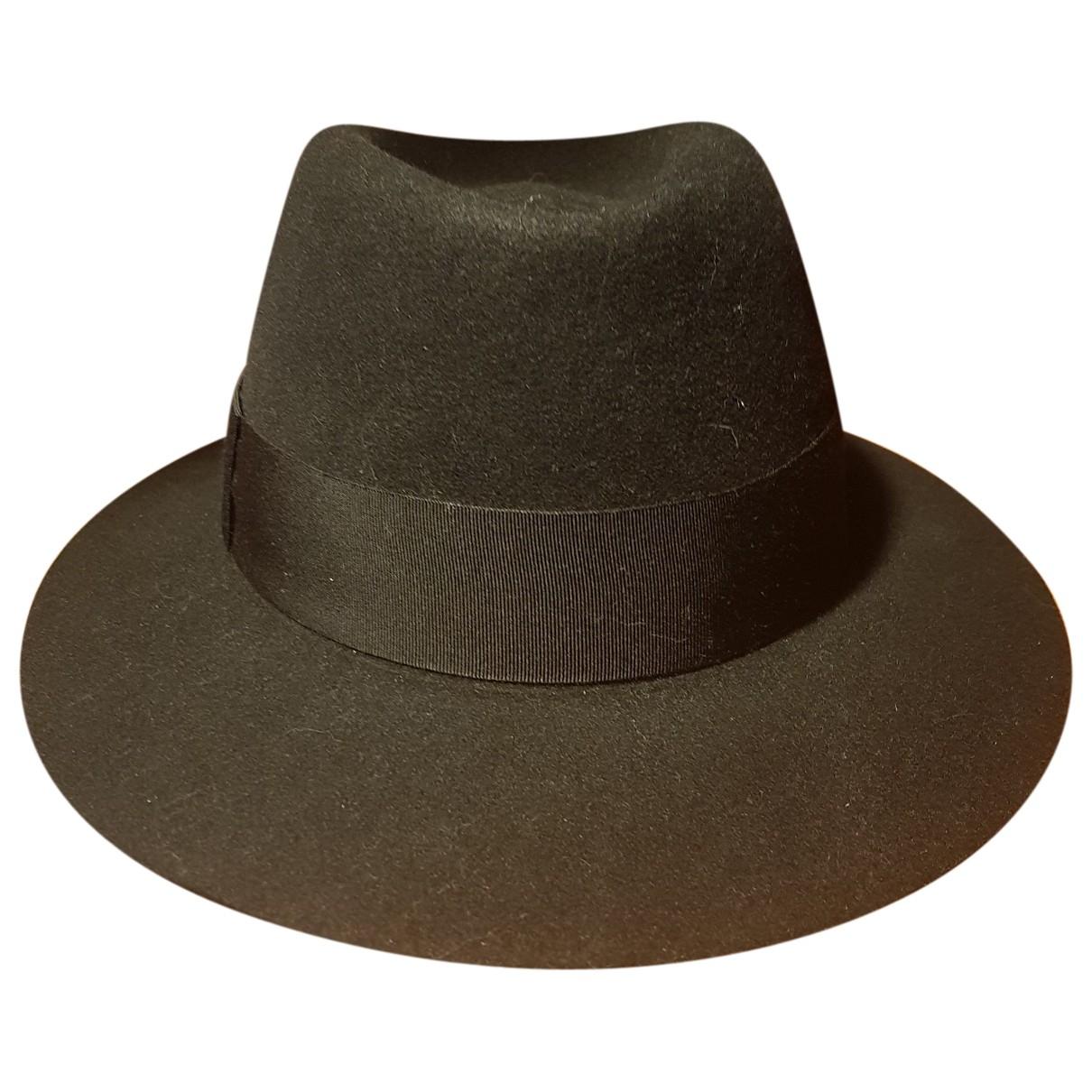 Saint Laurent \N Black Wool hat for Women S International