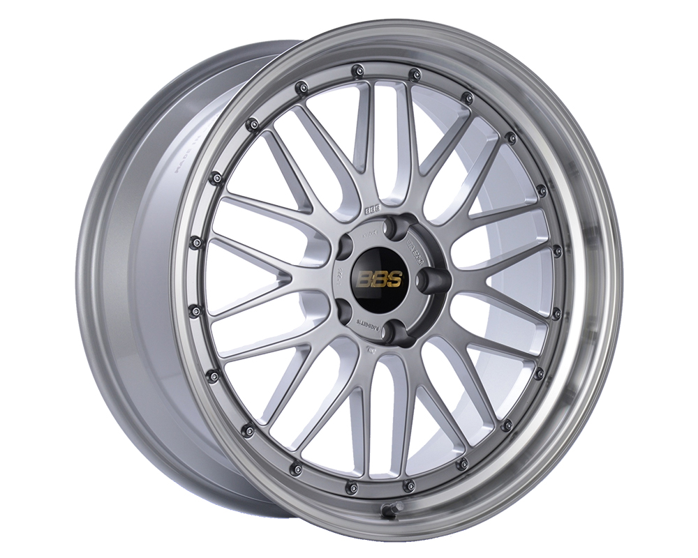 BBS LM Wheel 19x8.5 5x120 32mm Diamond Silver | Diamond Cut Rim