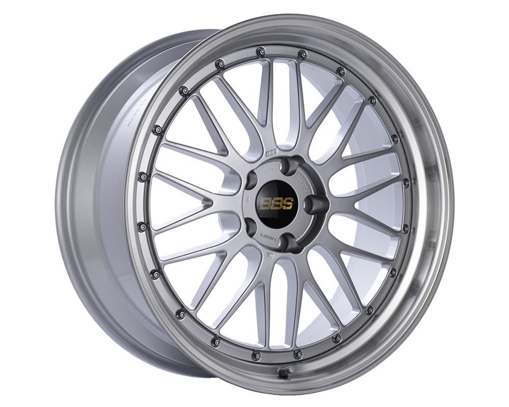 BBS LM Wheel 21x10 5x112 40mm Diamond Silver | Diamond Cut Rim
