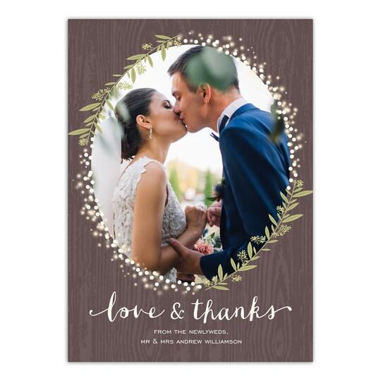 Gartner Studios® Personalized Twinkling Jars Wedding Thank You | Michaels®