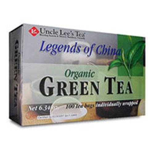 Organic Green Tea 100 Bags by Uncle Lees Teas