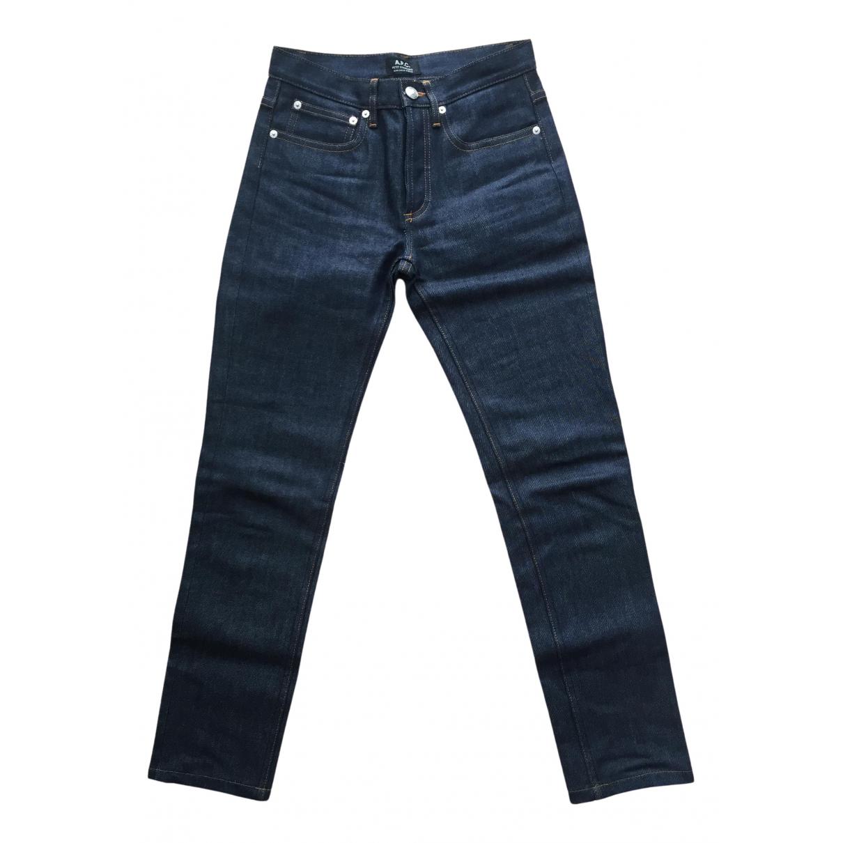 Apc \N Blue Denim - Jeans Jeans for Women 26 US