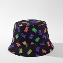 Bear Pattern Bucket Hat