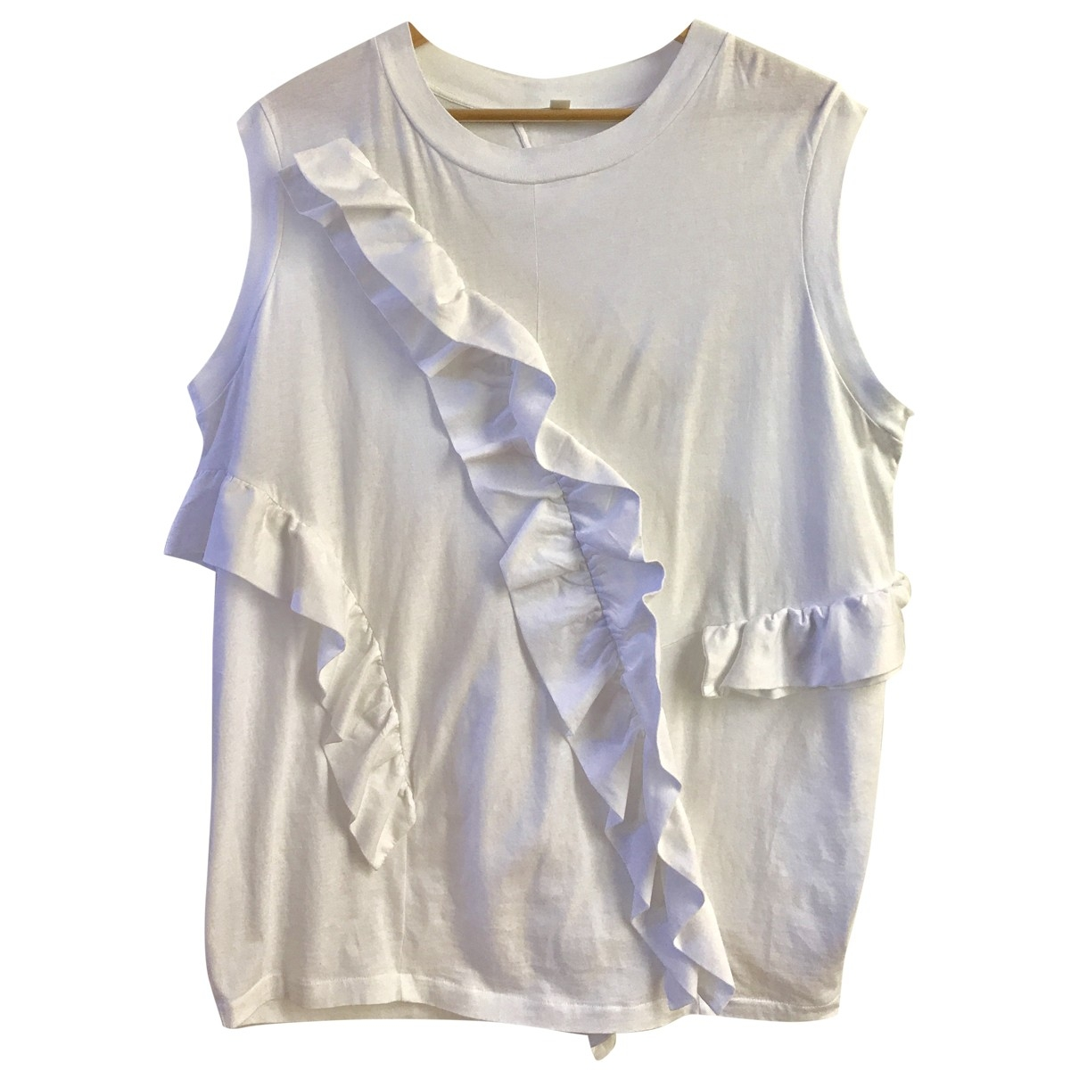 Cos \N White Cotton  top for Women S International