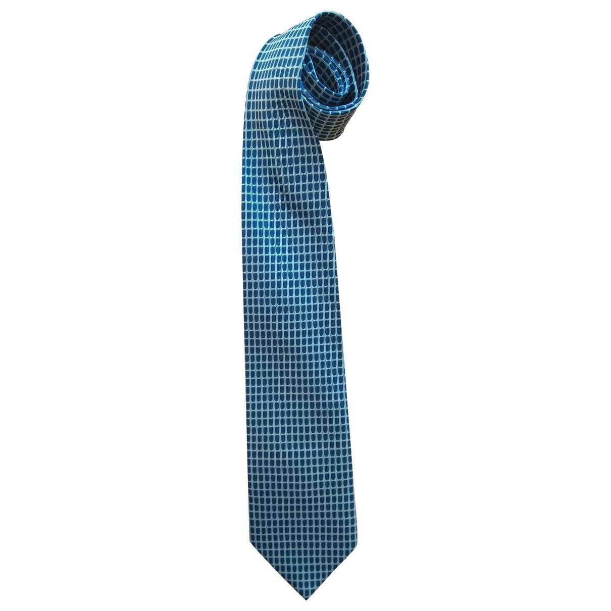 Gucci \N Krawatten in  Marine Seide