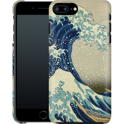Apple iPhone 7 Plus Smartphone Huelle - Great Wave Off Kanagawa By Hokusai von caseable Designs