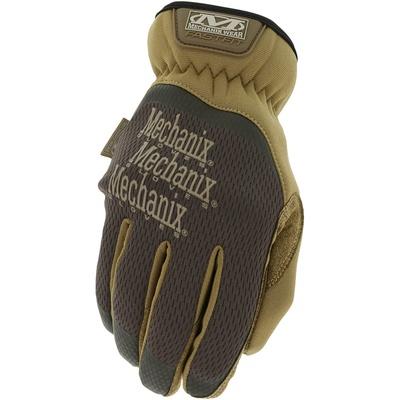 Mechanix Wear FastFit Work Gloves - Medium (Brown) - MFF-07-009