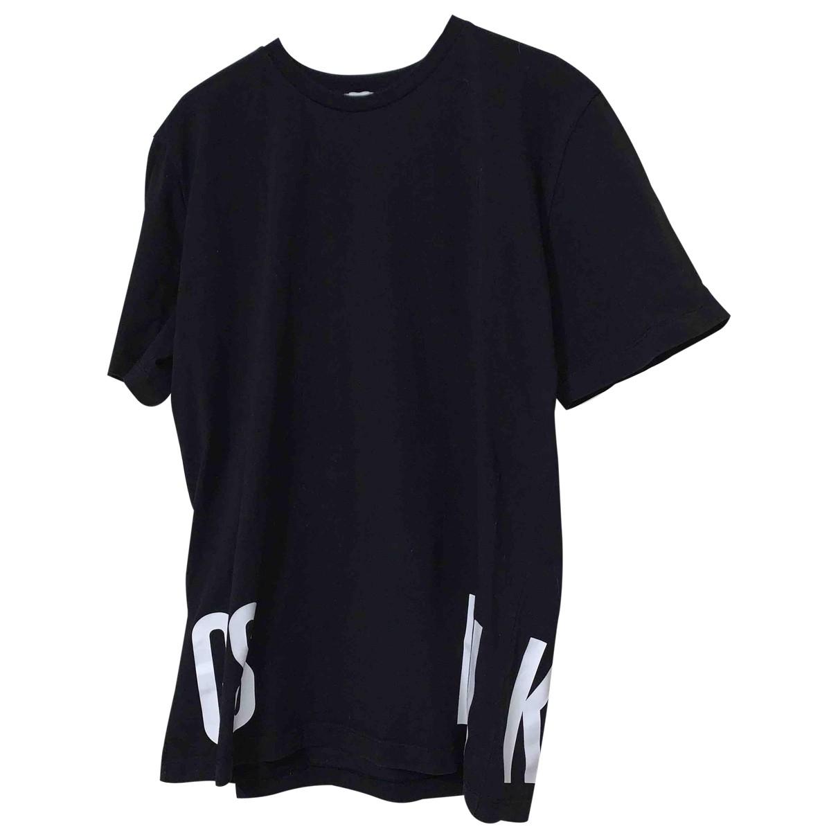 Dirk Bikkembergs \N Black Cotton T-shirts for Men M International