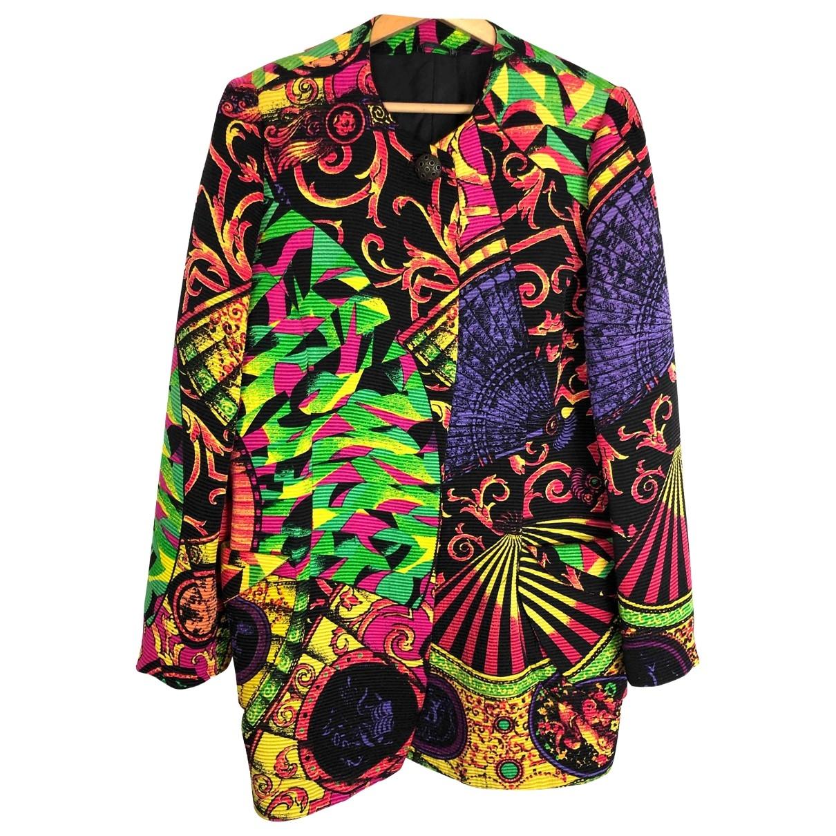 Gianni Versace - Veste   pour femme en laine - multicolore