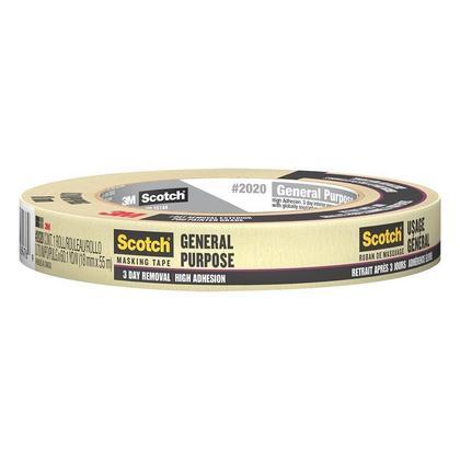 3M #2020 General-Purpose Masking Tape , 55M